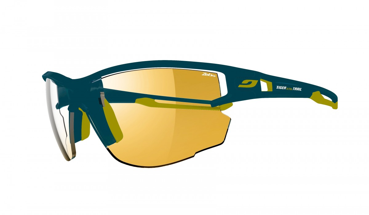 glasses for running  Julbo - Aero running glasses - Eiger Ultra Trail Grindelwald